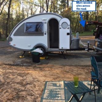 Tyler State Park Big Pine Campground