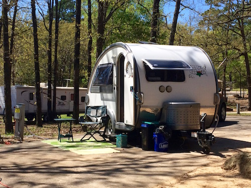 Tyler State Park T@B Lakeview Campground